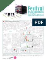 Festival Regalos Urbanos Plano Programa