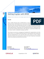 Getting to grips with BYOD