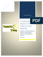 Le Guide Di Tennis Time - 4 Stili Di Gioco