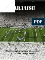 pennsylvania state university 2014 design paper
