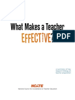 Teacher Effective