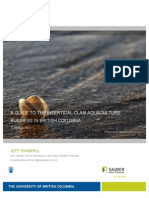 A Guide to Intertidal Clam Aquaculture Business in BC