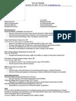 trevar haefele resume 1 15 1412