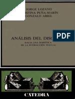 Analisis Del Discurso_J_Lozano