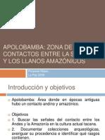 4. Apolobamba_Zona de Contacto Entre La Sierra y Los Llanos Amazónicos