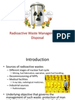 Radioactive Waste Management and Disposal