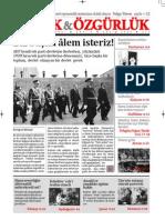 Ekmek ve Özgürlük - Aylık Siyasi Dergi - Kasım 2009 Sayı 3