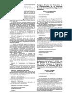 REGLAMENTO DE LA LEY DE CONSULTA PREVIA (Ley N° 29785)