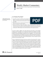 Compass Financial - Weekly Market Commentary March 3, 2008