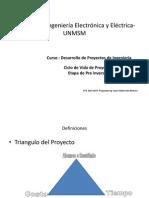 Curso Desarrollo de Proyectos de Ingenieria Clase 2 Abril 2014