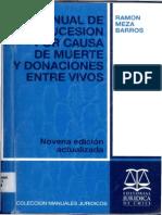 Sucesion Causa Muerte Meza Barros