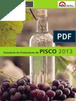 Directorio de Productores Pisco 2013