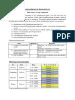 Mini Project CHE620_March - July 2014