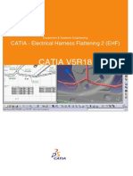 CATIA - Electrical Harness Flattening 2 (EHF)