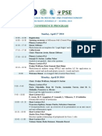 Pse Piatra Neamt - Conference Program