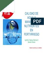 Calidad de Agua Fertilizantes