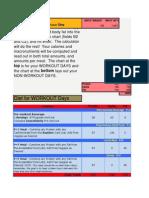 Super Hero Nutrition Calculator - Phase 1