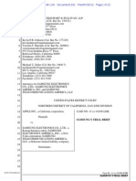 Samsung Unredacted Trial Brief