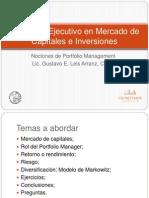 Nociones de Portfolio Management 1