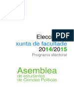 Programa Electoral Asemblea