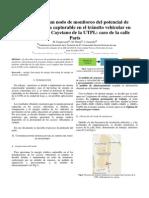 prediseño de un nodo de monitoreo del potencial de energía cinética capturable en el tránsito vehicular en el campus San Cayetano de la UTPL