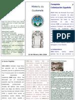 Trifoliar Historia de Guatemala, Alta Verapaz y Raxruha