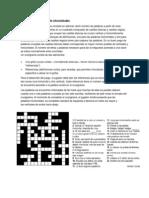 Características de Un Crucigrama