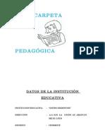 Carpeta Pedagogica Inicial 3