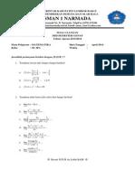 SOAL MID Semester 2 TP 2013-2014 Matematika Kelas XI IPA