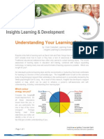 Understanding Your Learning Style (by Ccc) Dec03
