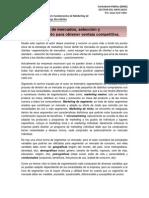 Informe 4, Porter