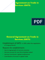 General Agreement on Trade in Services (GATS)
