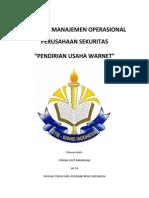 MAKALAH MANAJEMEN OPERASIONAL PERUSAHAAN SEKURITAS.docx