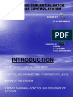 PLC Based Sequential Batch Process CONTROL System(2)