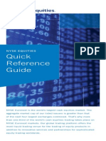 Nyse Equities Quick Reference Guide