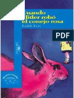 Kerr Judith-cuando Hitler Robo El Conejo Rosa