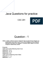 Java Questions for Practice[1]