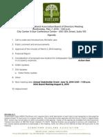 DOA Board Meeting May 07, 2014 Agenda Packet