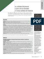 9. Conocimientos y Actitudes Del Personal de Enfª Acerca de Las VA en 2 Areas Sanitarias de Andalucia