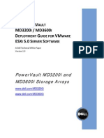 PowerVault MD ISCSI Deployment Guide for VMware ESX50 Server Software