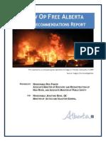 Grow Op Free Alberta Final Recommendations Report