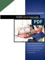 SGBD en el mercado
