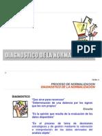 Tema 4 Diagnostico de La Normalización