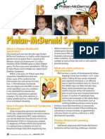 What is Phelan-Mcdermid Syndrome?