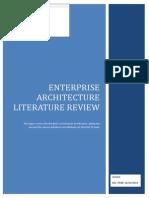 Enterprise Architecture Literature Review