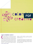 Plegable Colombia Creativa - Descargar