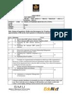 ERP Assignment MI0038