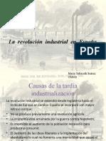 La  revolución  industrial  en  España. María