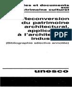 Bibliographie Reutilisation des Monuments