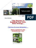 Solar Energy - To Home Video Tutorial